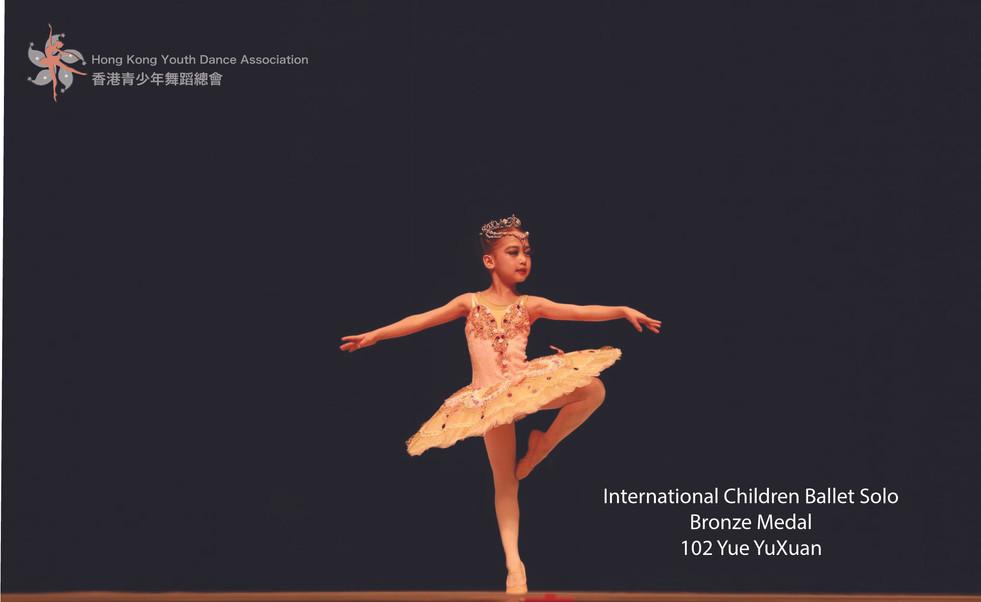 International Children Group Bronze Award