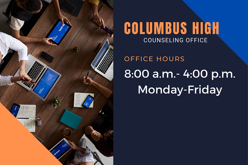 Blue and White Office Hours Corflute Sign (1).png
