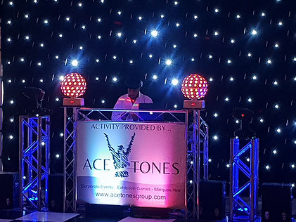 Sound system - included as standard in the wedding venue hire fee