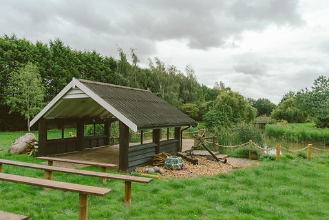 You and your wedding day at Crown Hall Far - the boat house is an interesting feature on our landscaped grounds