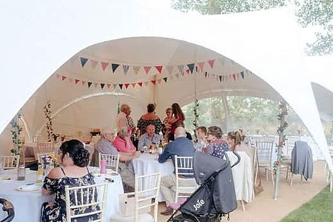 event space hire - private function taking place at Crown Hall Farm