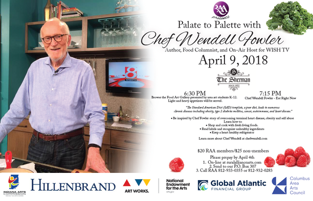 RAA Welcomes Chef Wendell Fowler