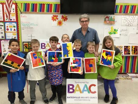 Durkin visits Batesville Primary School