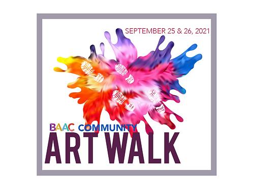 Art Walk Tickets - Saturday 9/25