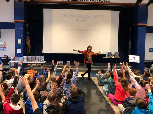 Author Barb Rosenstock Visits Schools