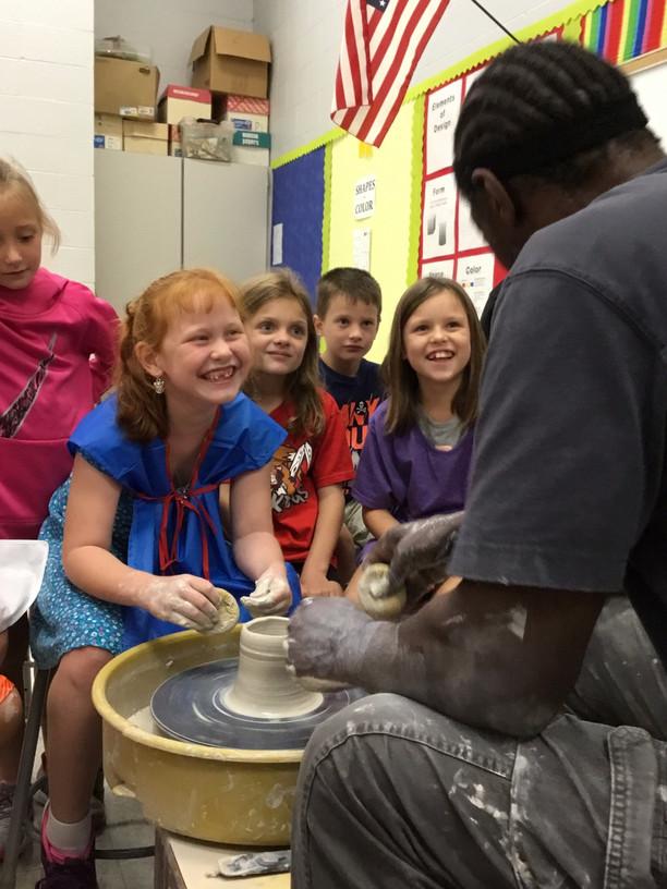 Visiting Pottery Artist - Don Edwards
