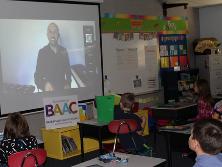Batesville Primary School virtually hosts Dr. Blake Brandes