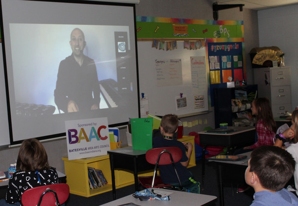 Batesville Primary School virtually hosts Dr. Blake Brandes