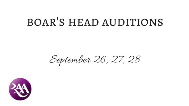 Boar's Head Auditions