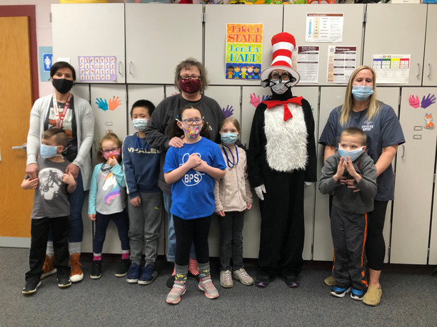 Cat in the Hat visits BPS