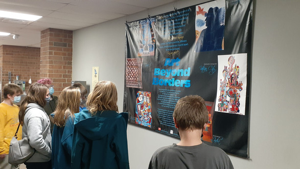 Traveling Exhibits at BMS this week!