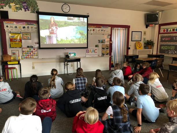 Toca Madera visits St. Louis Schools virtually