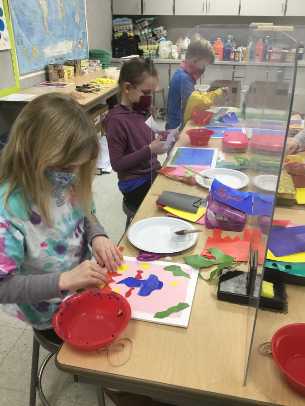 Matisse-A-Pizza at Batesville Primary School