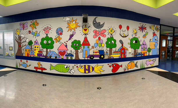 BIS has a new mural!
