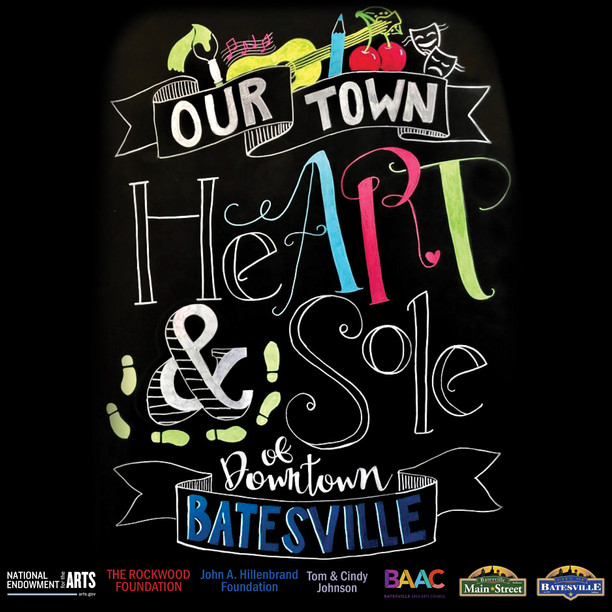 HeART and Sole of Downtown Batesville OUR TOWN PUBLIC ART PROJECT