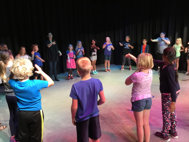 Arts in Education at Batesville Intermediate School - Playhouse in the Park workshops