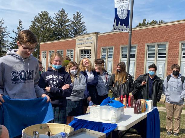 Steam Engine Ice Cream at Oldenburg Academy