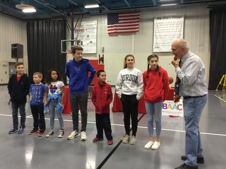 Paul O Kelly visits St. Louis School