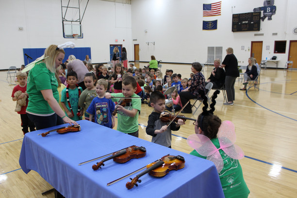 The Indianapolis Symphony Orchestra visits BPS