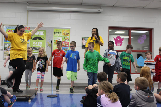 BPS Students Learn About Tap Dance