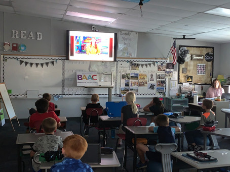 Space Station Livestream Special at Batesville Primary School