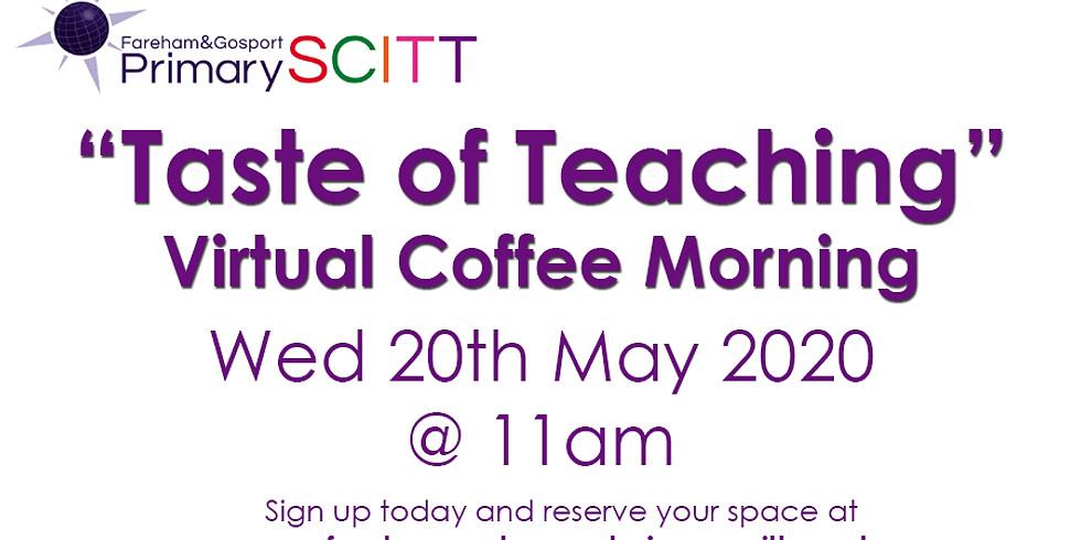"""Taste of Teaching"" Virtual Coffee Morning"