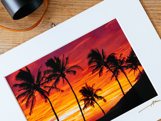 Making prints with a little bit of Aloha