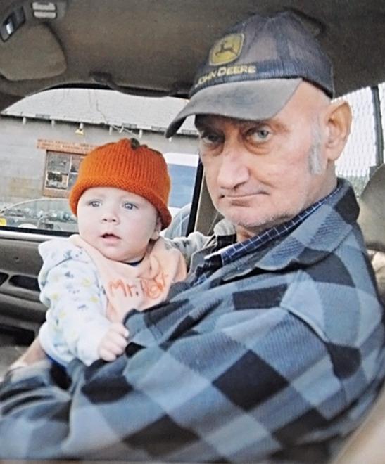 Bradford Reeve, Sr. with grandson