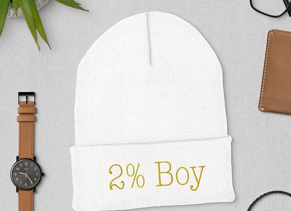 MCD 2% Boy Cuffed Beanie