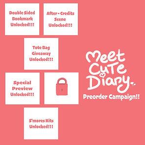 MEET CUTE DIARY Preorder Campaign Stretc