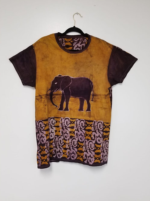 Elephant-Peace-Batik Tee