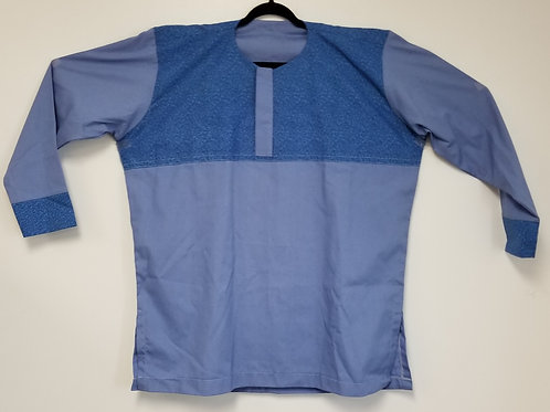 Men's GhanaMade Shirt  - Blue