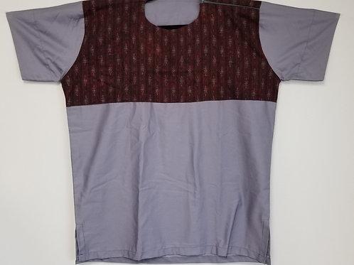 GhanaMade Men's Shirt - Lavender