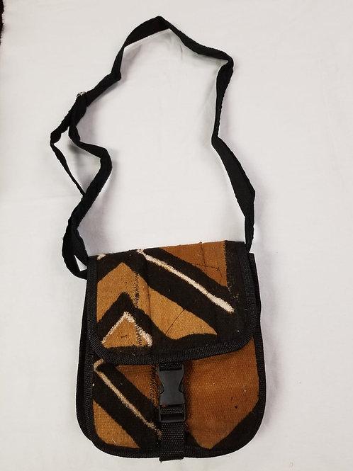 Mudcloth Shoulder Bag - F