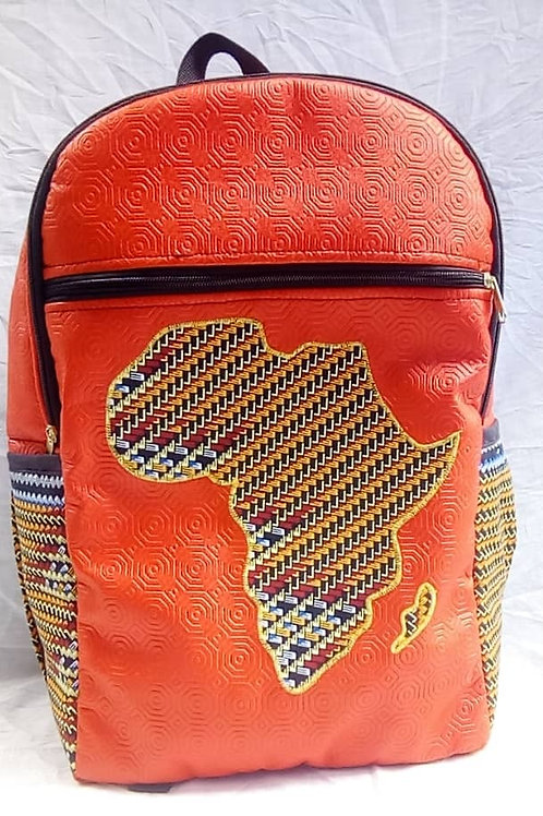 Backpack - ORANGE CONTINENT