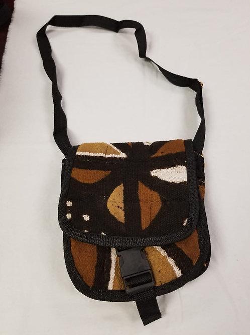 Mudcloth Shoulder Bag - H