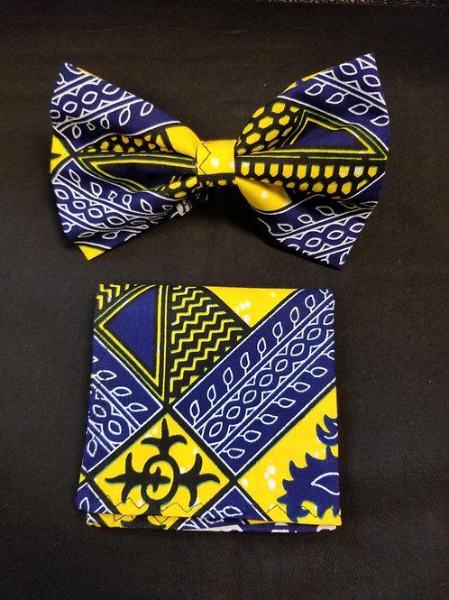 Bow tie w/Pocket Square Set - 3