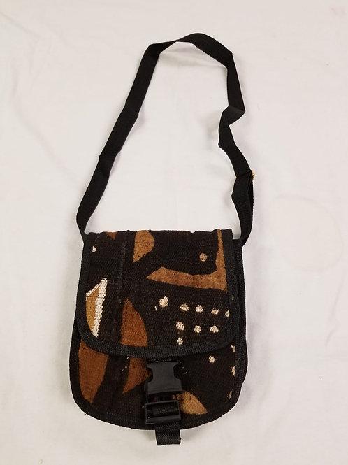 Mudcloth Shoulder Bag - A