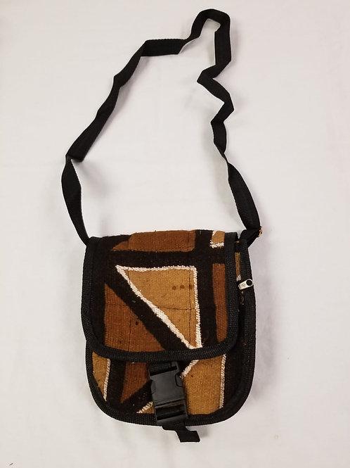 Mudcloth Shoulder  Bag - C