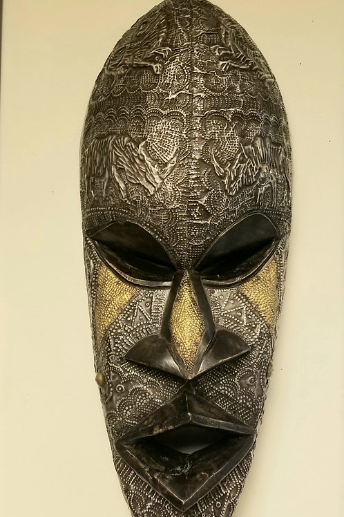 The Chiefest Metallic Face Mask