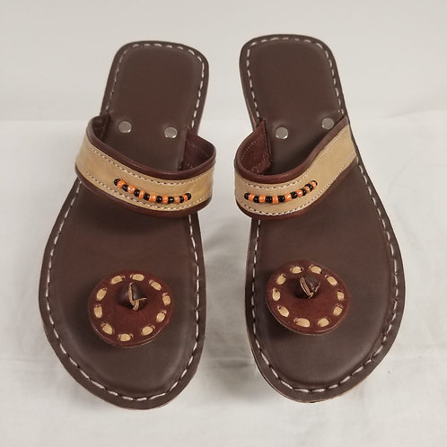 Lady's Leather Sandals