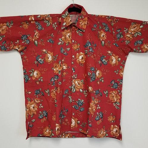 Men's GhanaMade Shirt - Floral