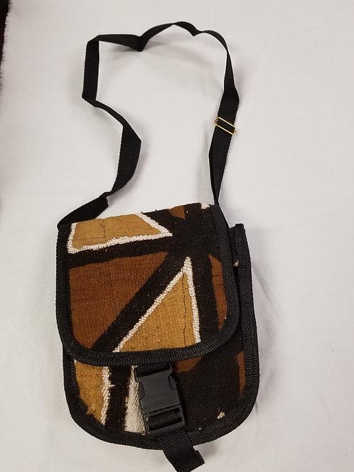 Mudcloth Shoulder Bag - J