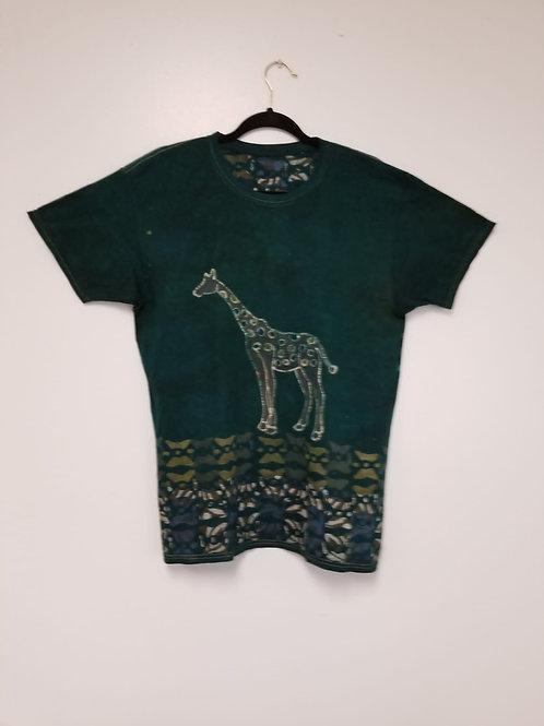Giraffe Batik Tye & Dye Tee