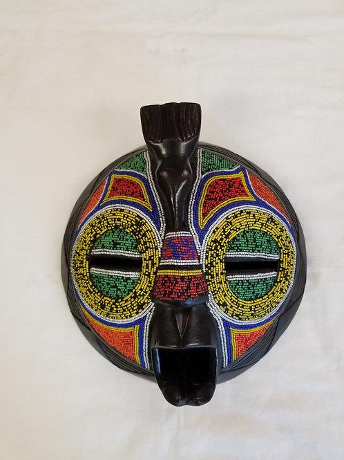 Beaded Round Mask Set