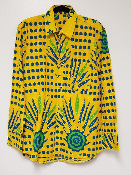 Men's GhanaMade Shirt - Yellow