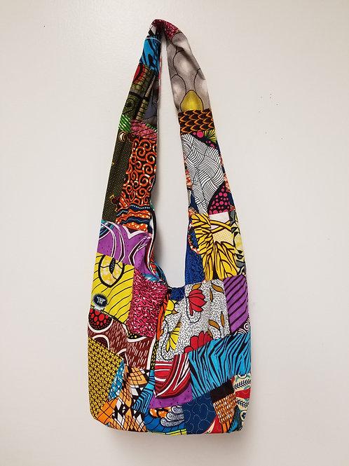 Hippie/Beach Bag (Patchwork Fabric)