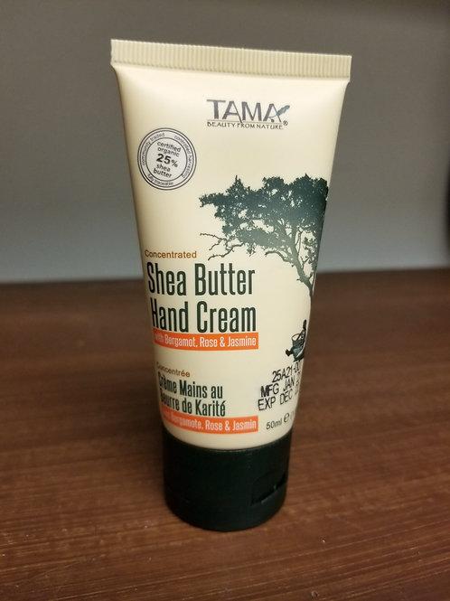 Shea Butter Hand Cream w/Bergamot, Rose & Jasmine - GhanaMade