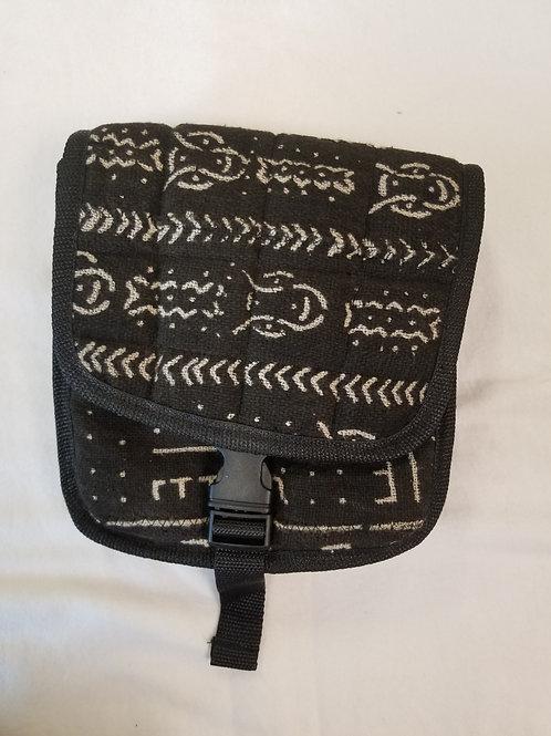 Mudcloth Shoulder Bag Black
