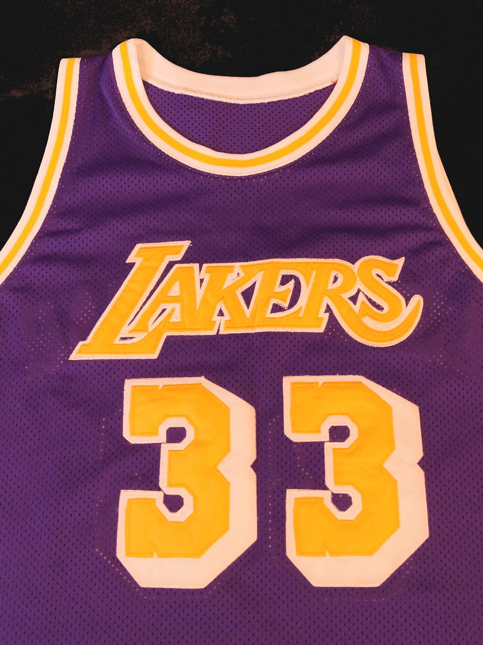 new concept 28931 af17c Mitchell & Ness LA Lakers Jersey Kareem Abdul-Jabbar 1979-80 Authentic  Jersey